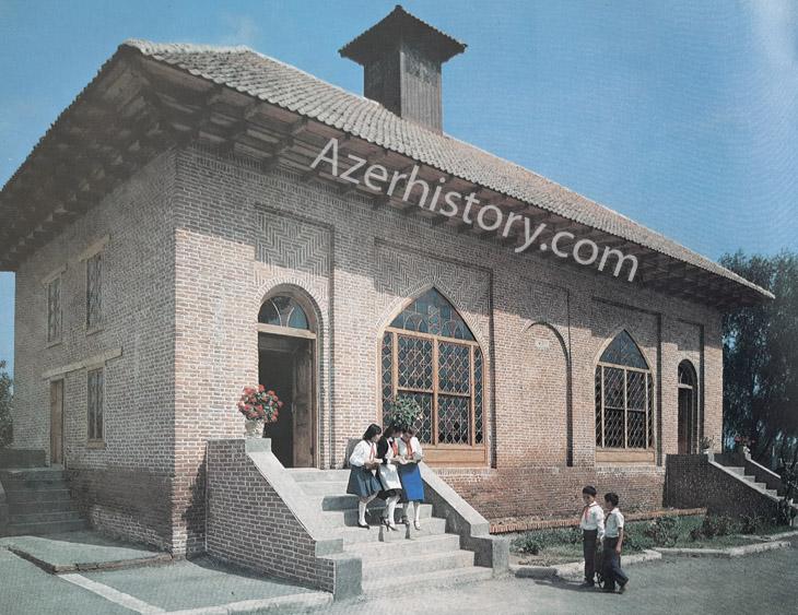 Фрагменты оформления фасадов в сельской местности Азербайджана 1980-х (ФОТО)