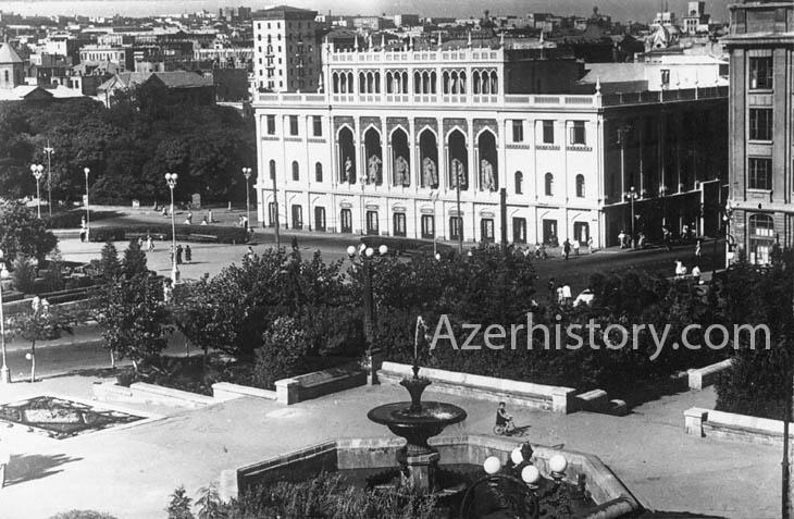 Виды Баку на редких открытках середины 1950-х гг. (ФОТО)