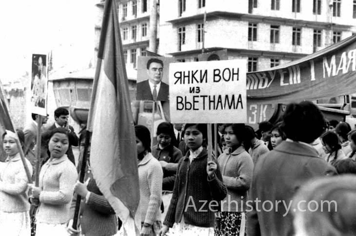 Из разных личных архивов: Баку в 1969 г. (ФОТО)