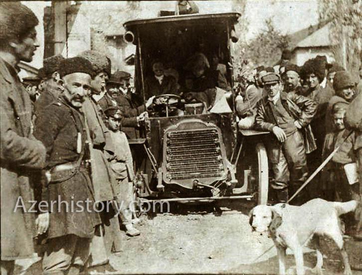 Жители Шеки в 1907 г. глазами французских путешественников (ФОТО)
