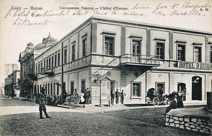 Доходные дома, гостиницы, бани в Азербайджане (вторая половина XIX – нач. XX вв.)
