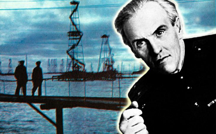 """""""Морское божество..."""" - душевное стихотворение Н.Тихонова о Нефтяных Камнях"""