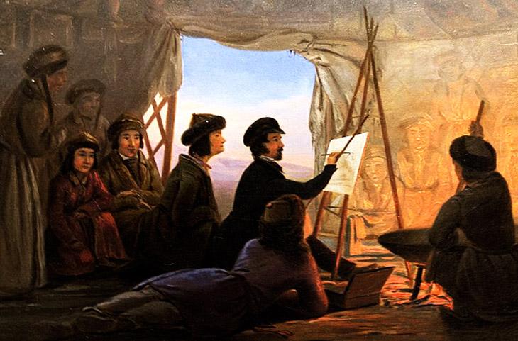 Баку 1848-1849 гг. глазами немецкого художника-этнографа В.Кизеветтера (ФОТО)
