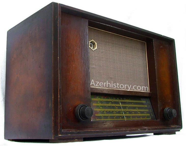 История бакинских радиоприемников и радиол (ФОТО)