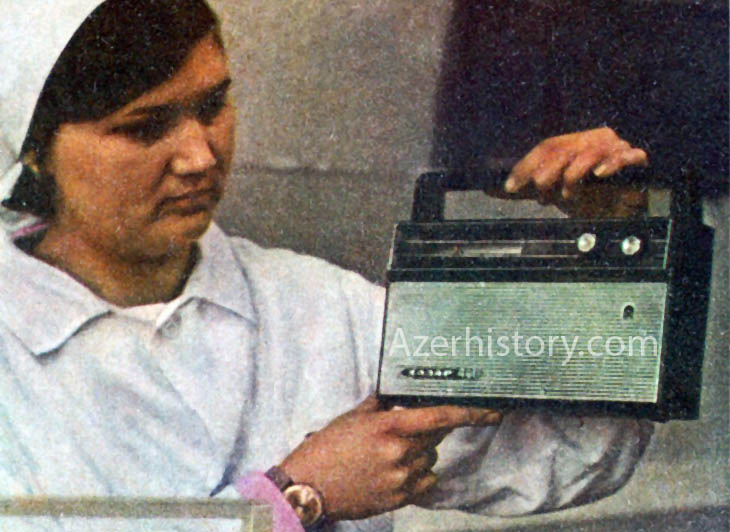 Советские приемники, магнитолы и компьютеры Бакинского радиозавода (ФОТО)