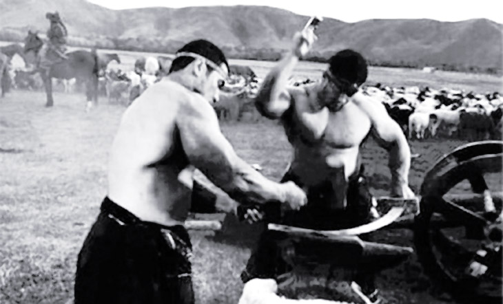Кузнечное дело и его отражение в легендах и преданиях азербайджанцев