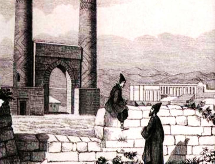 Полуразрушенный Нахчыван после русско-персидской войны (описание 1831 г.)