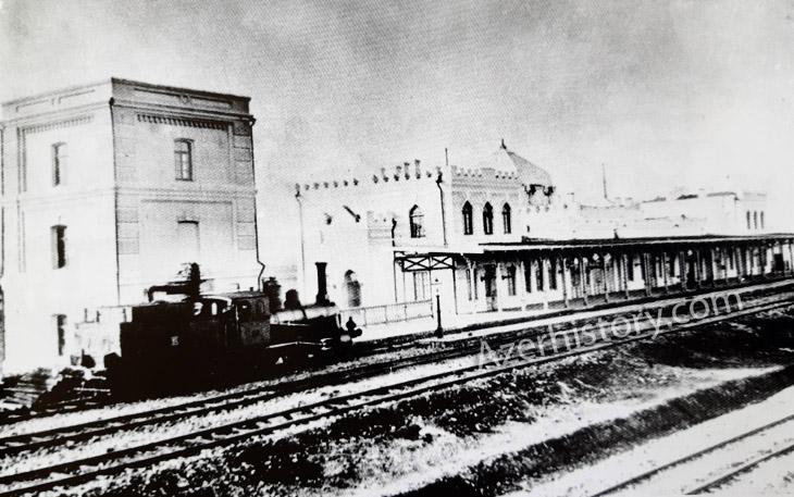 Железные дороги Азербайджана во время Первой мировой войны (1914-1918)