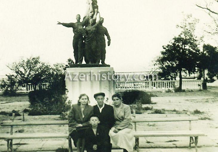 Поселок Мардакян недалеко от Баку в 1950х-1980х гг. (ФОТО)
