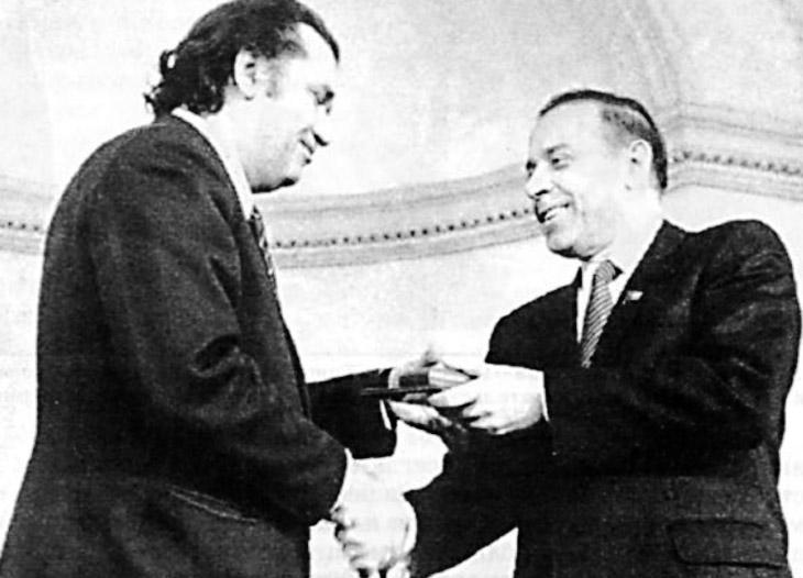 Гейдар Алиев о З.Буниятове: Мне многое известно, поэтому я скажу обо всем у его гроба