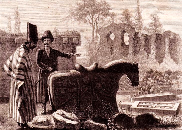 Надгробные каменные изваяния животных в истории Азербайджана