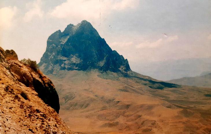 Самобытная и завораживающая природа Нахчывана 1998 г. (ФОТО)