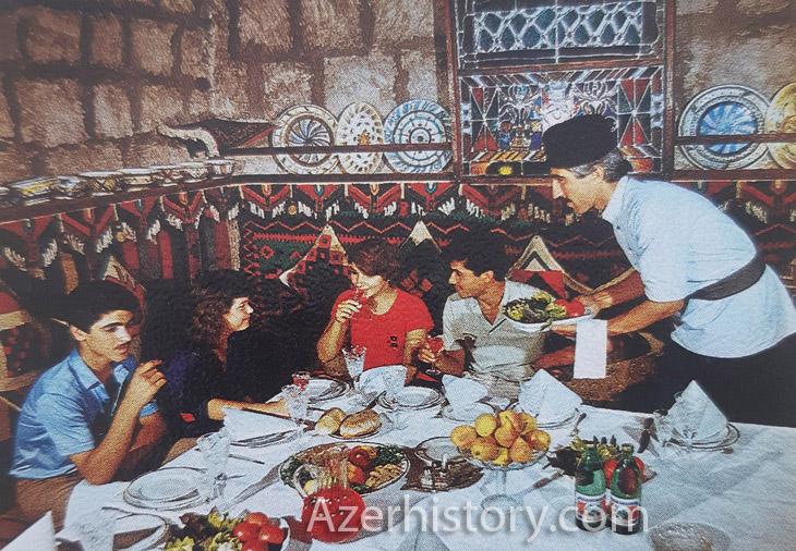 Азербайджанские сладости, фрукты и напитки из брошюры 1989 г. (ФОТО)