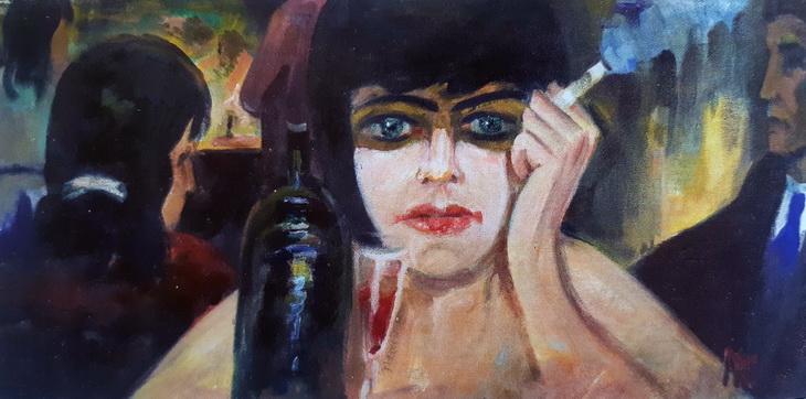 Франция 1960х-1990х годов глазами художника К.Наджафзаде (ФОТО)