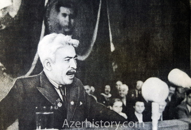 Самед Вургун во время зарубежных поездок 1930х-1950х гг. (ФОТО)