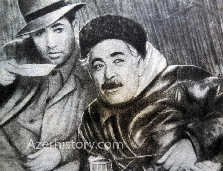 Редкие фото поэта Самеда Вургуна в поселках Баку и регионах Азербайджана