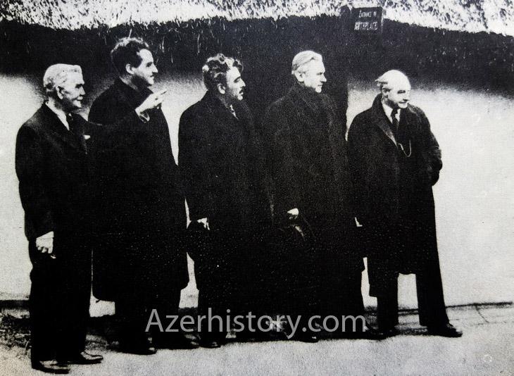 По следам Самеда Вургуна: поездка в Англию в 1947 г. (ФОТО)