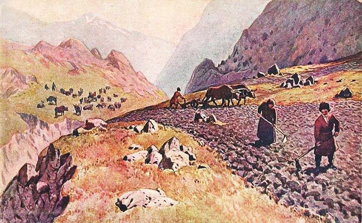 Особенности земледелия в Гарабагском ханстве