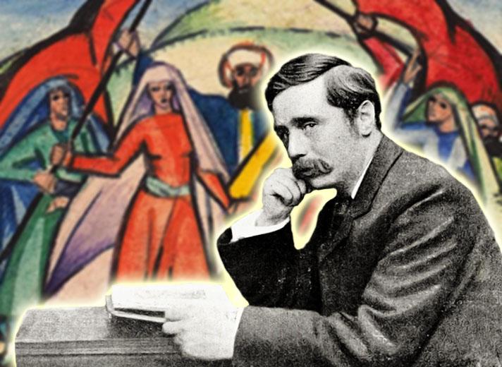 Писатель-фантаст Герберт Уэллс о Съезде народов Востока в Баку (1920 г.)