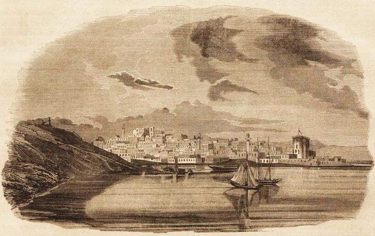 Из Астрахани в Баку на военном почтовом пароходе (из очерка 1854 г.)
