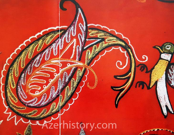 Шедевры азербайджанской вышивки – серия из Гянджи, XVIII- нач. XX вв. (ФОТО)