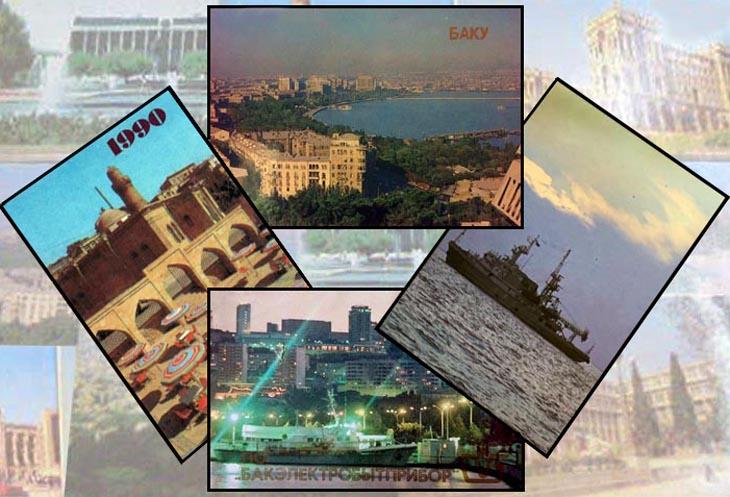 Виды Баку на карманных календарях 1976-1991 гг. (ФОТО)