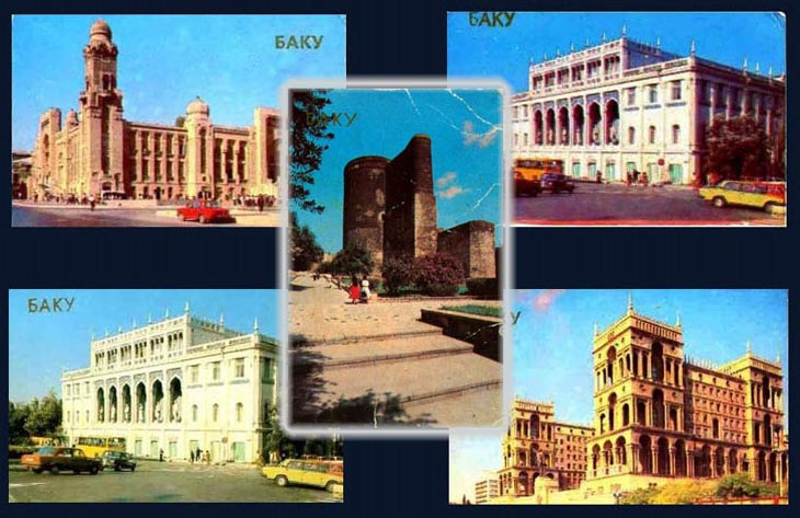 Виды Баку на карманных календарях 1989 года (ФОТО)
