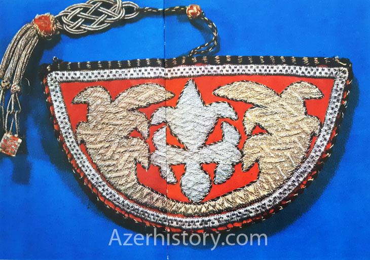 Шедевры азербайджанской вышивки – серия из Шеки, XVIII- нач. XX вв. (ФОТО)