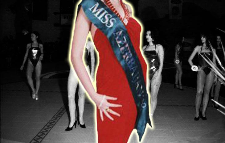 """Газетные архивы: Конкурс """"Мисс Азербайджан-1998"""" (ФОТО)"""