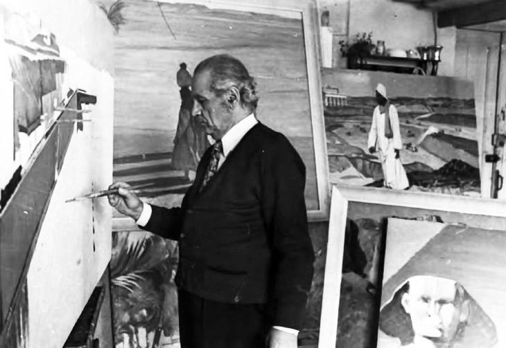 Тема Востока в работах азербайджанского художника С.Саламзаде (1908-1997)