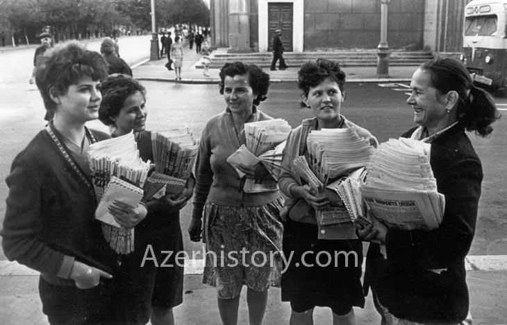 Почта и почтальоны Азербайджана 1940-1990-х годов (ФОТО)