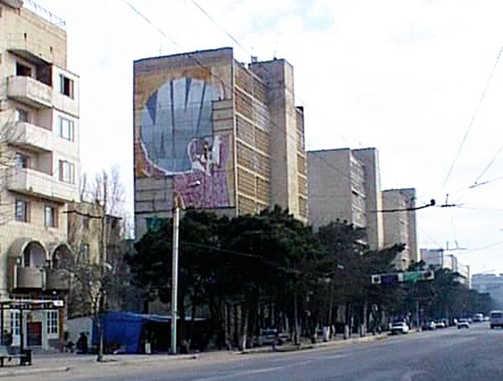 Газетные архивы: Контрастный Баку и его жители в 1999 г. - часть 1 (ФОТО)