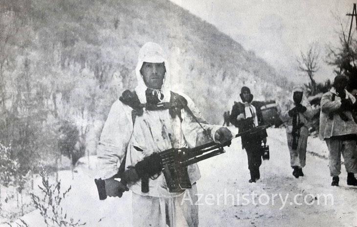 Суровая зима в Карабахе, 1992-93: азербайджанские солдаты на войне (ФОТО)