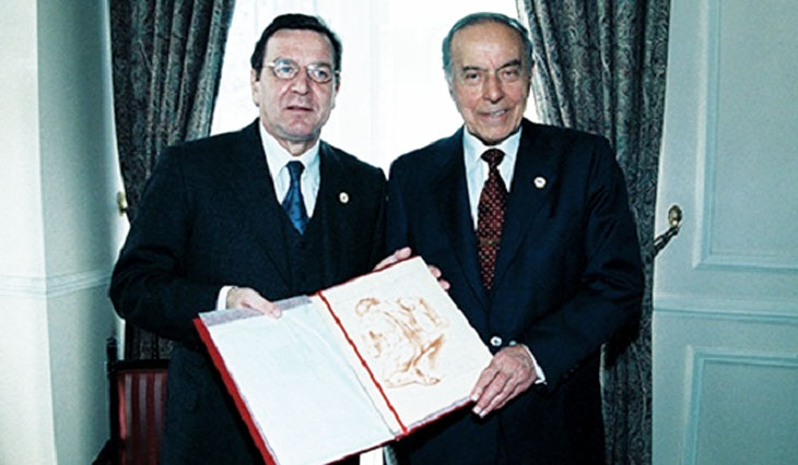 Экономические отношения между Азербайджаном и Германией в 1991-2000 гг.
