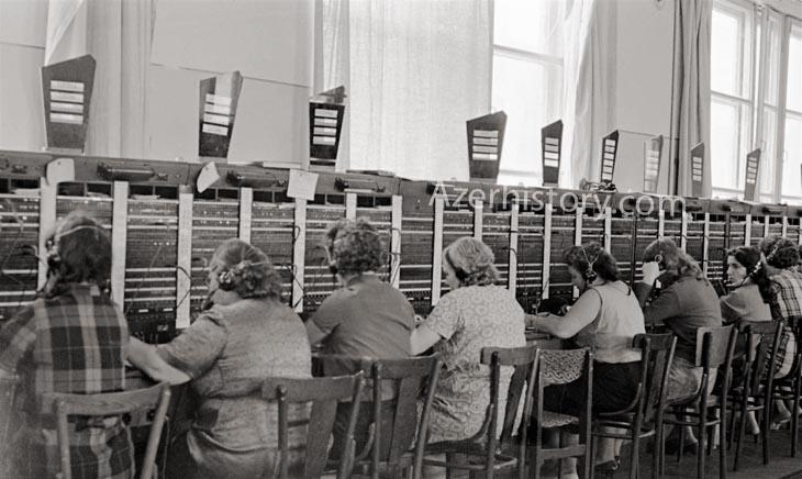 Из истории появления телефона и телеграфа в Азербайджане (ФОТО)