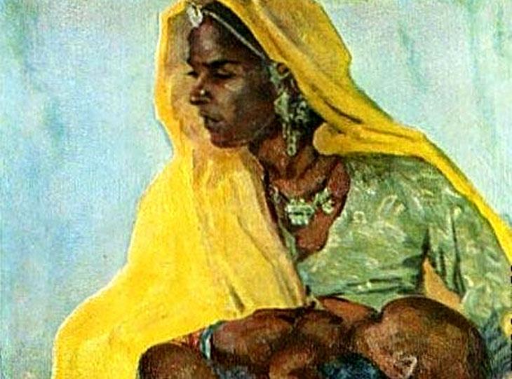 Индия 1950-х глазами азербайджанского художника Микаила Абдуллаева (1921-2002)